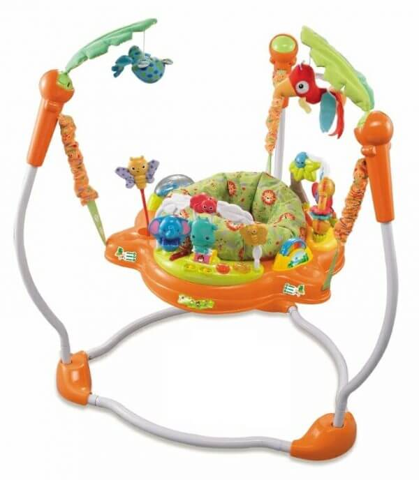 Baby Jumper Babyelle Jungle Baby Jumperoo – Orange