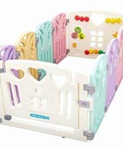 Baby Activities Coby Haus Fence Butterfly (8+2)