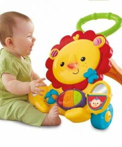 Baby Activities Fisher Price Musical Lion Walker