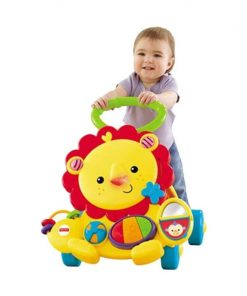 Push Walker Fisher Price Musical Lion Walker