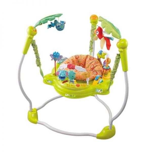Baby Jumper Babyelle Jungle Baby Jumperoo – Green
