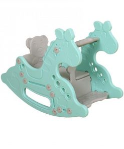 Baby Activities Coby Haus Lolly Gummy Rocking Horse-Blue