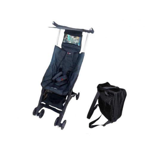 Stroller Pockit Coco Latte CL 788 Denim