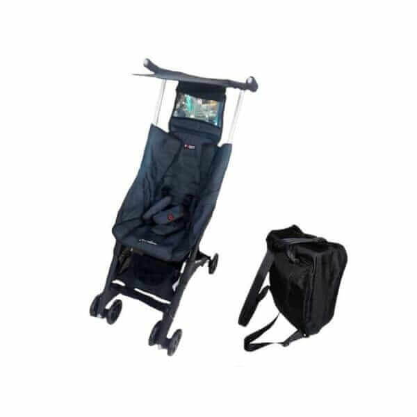 Stroller Pockit Coco Latte CL 788 Denim