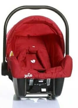 Travelling Stuff Joie Meet Juva Red Car Seat