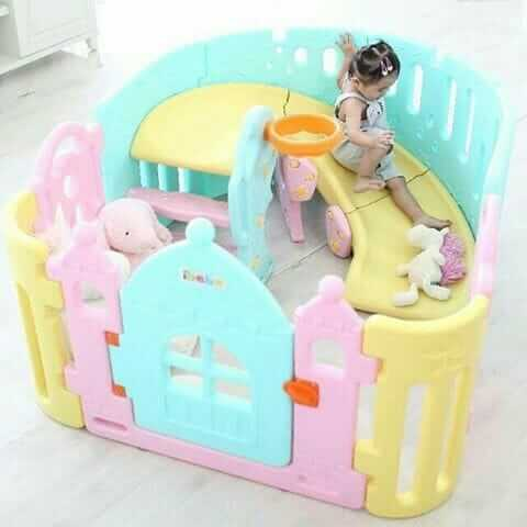 Baby Activities Ibebe Lollipop 3in1 Playroom