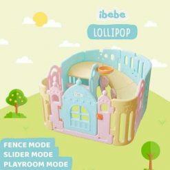 Baby Fence Ibebe Lollipop 3in1 Playroom