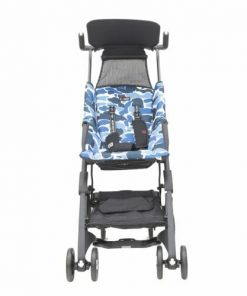 Stroller Pockit Coco Latte CL 839 Bebe Apes Biru