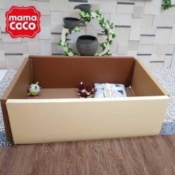 Bumperbed & Playmat Mamacoco Bumpermat – Cappuccino