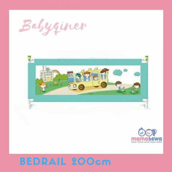 Bedrail Bedrail GOL BabyQiner Blue 200cm