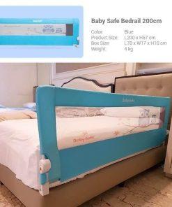 Bedrail Bedrail Babysafe Owl Blue 200cm