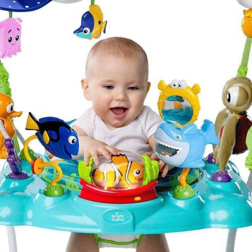 Baby Activities Bright Starts Finding Nemo Sea Activity Jumper