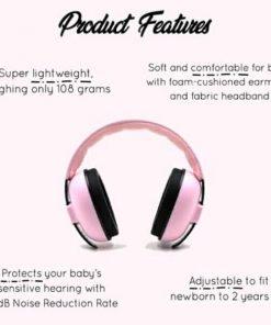 Earmuff Sunday Baby Earmuff – PINK