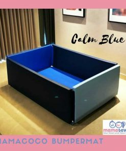 Bumperbed & Playmat Mamacoco Bumpermat – Calm Blue