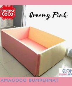 Bumperbed & Playmat Mamacoco Bumpermat – Creamy Pink