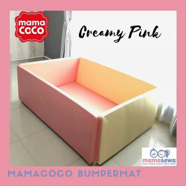 Bumperbed & Playmat Mamacoco Bumpermat – Creamy Pink