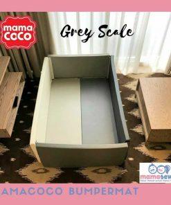 Bumperbed & Playmat Mamacoco Bumpermat – Grey