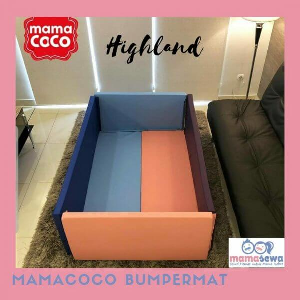 Bumperbed & Playmat Mamacoco Bumpermat – Highland