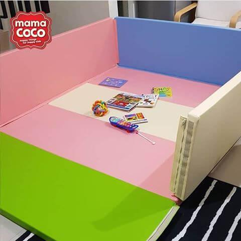 Bumperbed & Playmat Mamacoco Bumpermat – Gummy