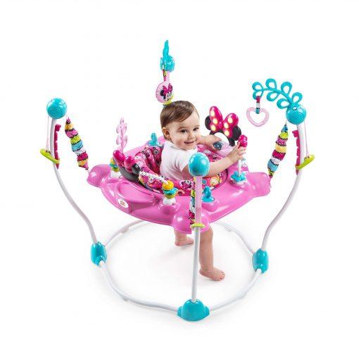 Baby Activities Bright Starts Jumperoo Minnie Mouse Peekaboo Activity Jumper