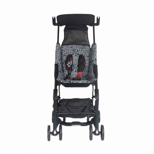 Stroller Pockit 842 Keith Haring – Black and White