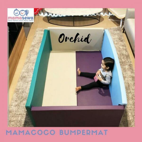 Bumperbed & Playmat Mamacoco – Orchid