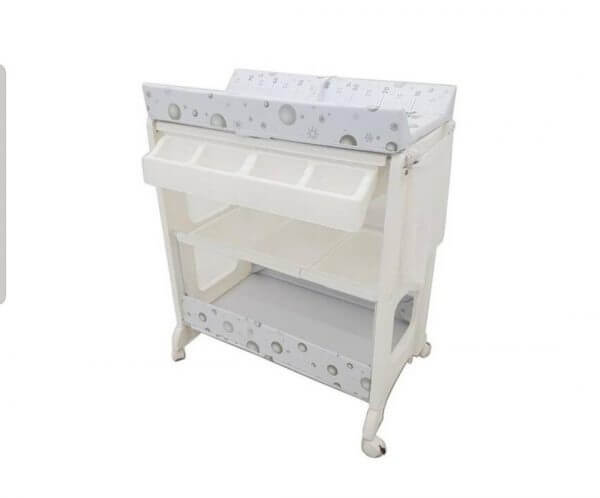 Bak Mandi dan Baby Tafel Pliko Baby Tafel Change Table Bathtub – Pinguin And Snowman