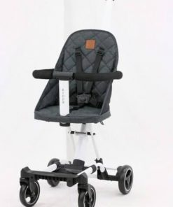 Stroller Babyelle Convertible Rider 1688 – Dark Grey