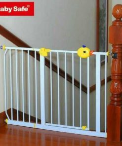 Baby Fence Baby Safe Door & Safety Gate XY018B 75-85cm – Yellow Duck