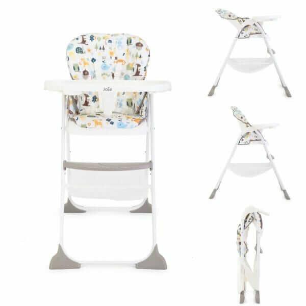 Kursi Makan Joie Mimzy Snacker High Chair – Alphabet