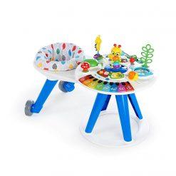 Baby Activities Baby Einstein Around We Grow 4-in-1 Baby Walker & Activity Table