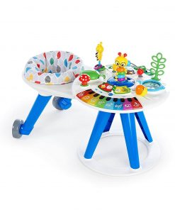 Baby Activities Baby Einstein Around We Grow 4-in-1 Baby Walker & Activity Table