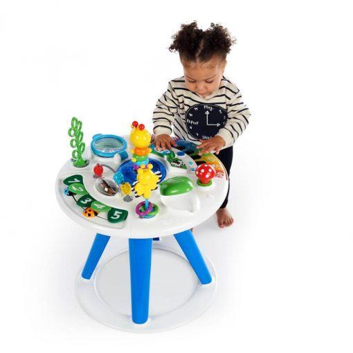 Push Walker Baby Einstein Around We Grow 4-in-1 Baby Walker & Activity Table