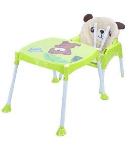 Kursi Makan Baby Safe Separable High Chair Kursi Makan Bayi – Green