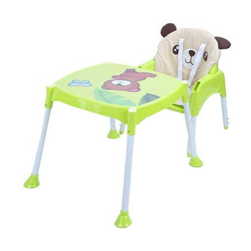 Kursi Makan dan Highchair Baby Safe Separable High Chair Kursi Makan Bayi – Green