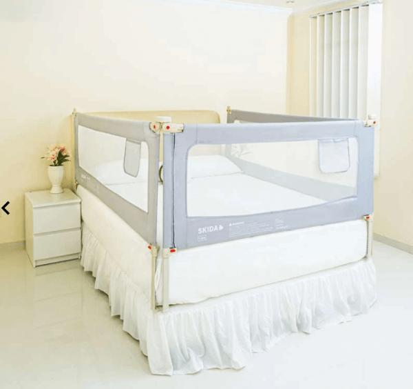 Bedrail Bedrail Skida Extra Tall Slide Down – Grey 200cm