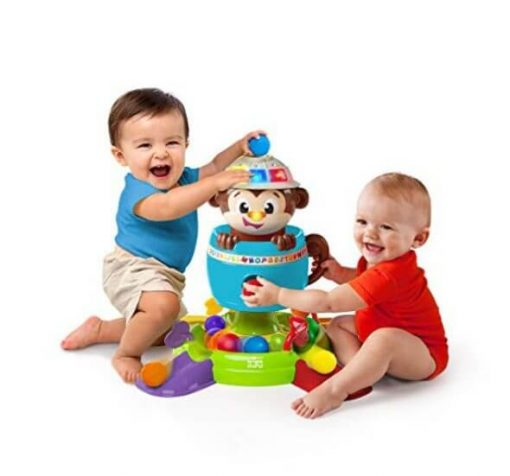 Baby Activities Bright Starts Hide n Spin Monkey