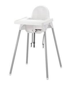 Kursi Makan IKEA Antilop High Chair – White