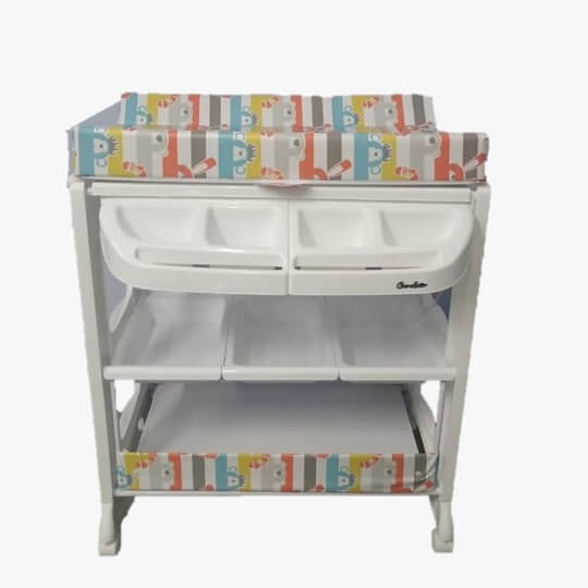 Bak Mandi dan Baby Tafel Cocolatte Baby Tafel – Colorful