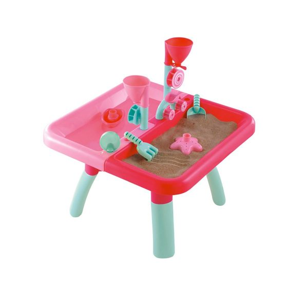 Baby Activities ELC Sand and Water Activity Table – Pink