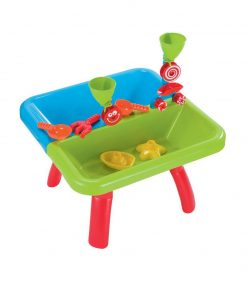Baby Activities ELC Sand and Water Activity Table – Green Blue