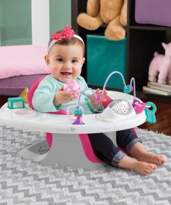 Kursi Makan Summer Infant 4-in-1 SuperSeat – Pink