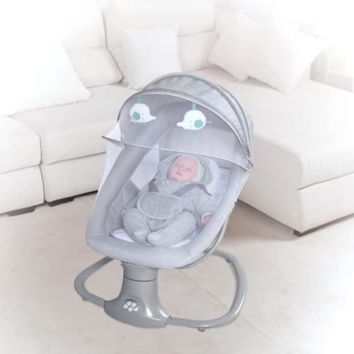 Baby Bouncer Cocolatte Weeler Snuggli Swing – Light Grey