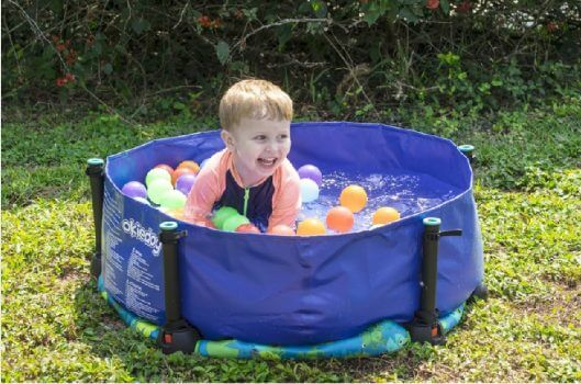 Baby Activities Okiedog Trampoline 100cm Superheroes + Ball Pit (Termasuk Bola)