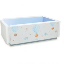 Bumperbed & Playmat Lumba Bumperbed New Generation 7,5cm – Hot Balloon Blue