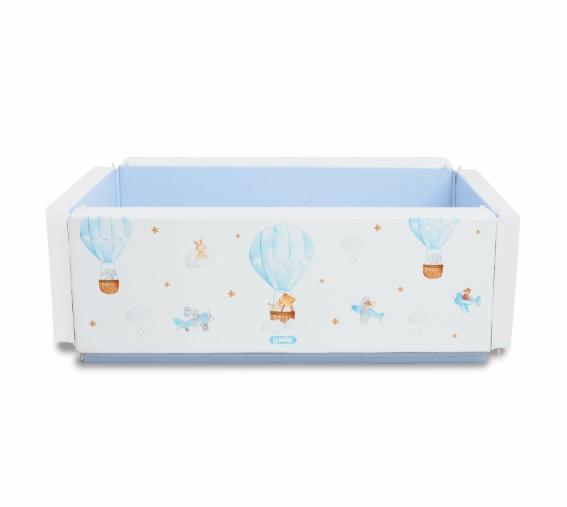 Bumperbed & Playmat Lumba Bumperbed New Generation – 7,5cm Hot Balloon Blue