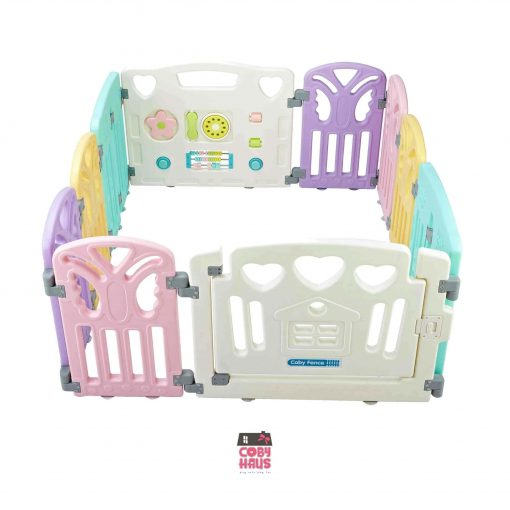 Baby Activities Coby Haus Fence Butterfly (6+2+2)