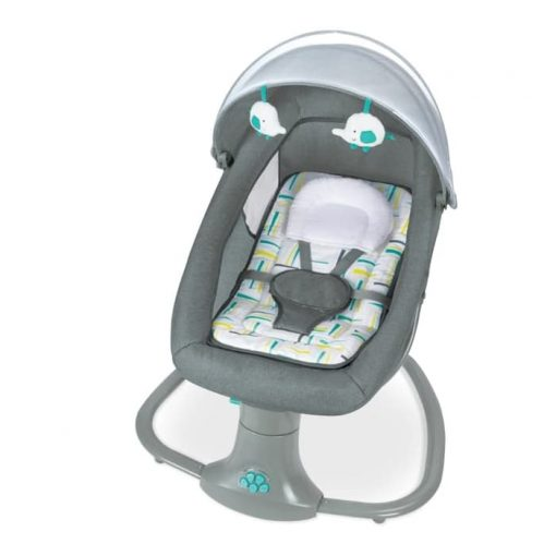 Baby Bouncer Cocolatte Weeler Snuggli Swing – Dark Grey