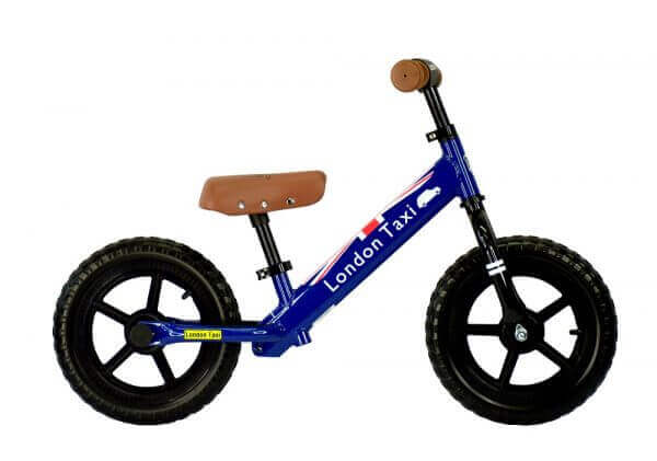 Sepeda Sepeda London Taxi Kick Bike – Blue