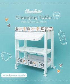 Baby Activities Cocolatte Baby Tafel – Animal